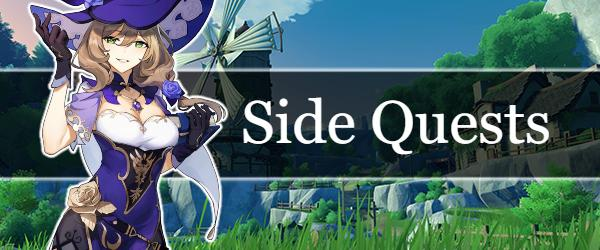 Side quests guides