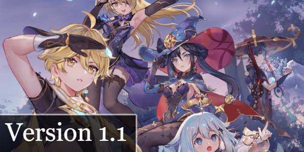 Version 1.1 Updates