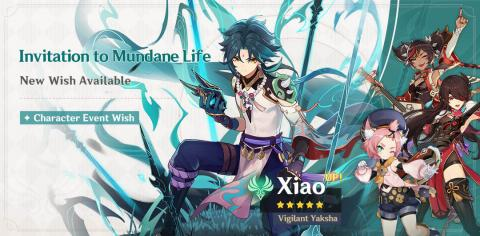 New Character: Xiao & Event Wish