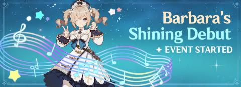 Barbara's Shining Debut Event